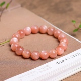 Authentic Sunstone 8Mm Beads Bracelets Natural Stone Gemstone Fashion Crystal Jewelry Accessory Party Gifts Beauty New Intl Stoneage Discount