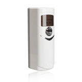 Low Cost Automatic Light Sensor Aerosol Air Freshener Dispenser White Ok 002