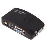 Latest Av Rca Composite S Video Input To Vga Output Monitor Converter Adapter Cctv Intl