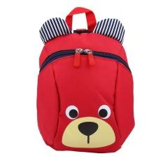 Baby Toddler Backpack Anti-Lost Kids Children Bag Cute Cartoon Kindergarten School Bags(red) - Intl By Highfly.