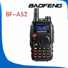 Purchase Baofeng A52 Dual Band Model Vhf Uhf 136 174 400 520Mhz Handheld Two Way Radio Bf A52 Transceiver Intl