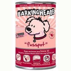 Cheapest Barking Heads Canned Food Fusspot Salmon Herring 400G X6 Online