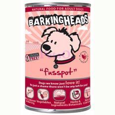 Barking Heads Canned Food Fusspot Salmon Herring 400G X6 On Line