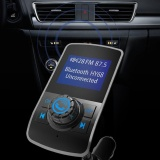 Best Belle Wireless In Car Bluetooth Fm Transmitter Radio Adapter Car Kit Usb Car Charger Intl