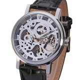 Top Rated Bellucci Alda Silver Case Skeleton Dial