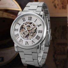 For Sale Bellucci Enrico Silver Case Silver Skeleton Dial