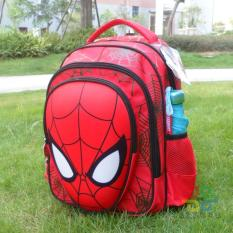 Product Big Brand Spiderman Burden Relieving Schoolbag Spiderman Stereo 3D Young Students Boys Cartoon Backpack