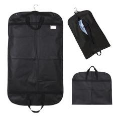 Black Suit Dress Coat Garment Storage Travel Carrier Bag Cover Hanger Protector By Freebang.
