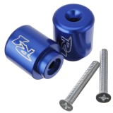 Blue End Bars For Yamaha Yzf R6 2006 2007 Yzf R1 Yzf Rz 1998 2008 01 02 03 04 05 Intl In Stock