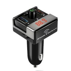 Best Offer Bluetooth 4 Fm Transmitter Handsfree Car Kit Mp3 Player With Usb Port Intl