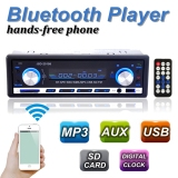 Bluetooth Car Stereo Mp3 Player 1 Din In Dash Radio Usb Sd Aux Audio Player In Stock