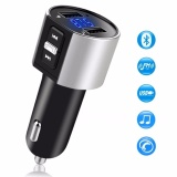 Best Buy Bluetooth Fm Transmitter Bluetooth Receiver Mp3 Player Wireless In Car Stereo Radio Adapter Car Kit Hands Free Calling Dual Usb Ports Charge 5V 2 4A 1A Ce010 Intl