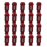 Sale Bolehdeals 20Pcs M12X1 5Mm Open End Racing Wheels Rims Extended Tuner Lug Nuts Red Hong Kong Sar China Cheap