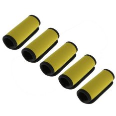 Bolehdeals 5pcs Neoprene Luggage Handle Wrap Travel Bag Identifier Wrap Earthy Yellow - Intl By Bolehdeals.