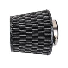 Bolehdeals 76Mm Car High Flow Air Intake Cone Filter Cleaner Fuel Saver Carbon Fiber Best Buy
