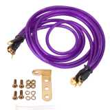 Store Bolehdeals Auto High Grounding System Wire Kit Cable Fit For Universal 5 Point Purple Bolehdeals On Hong Kong Sar China