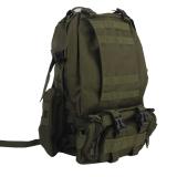 Cheaper Bolehdeals Military Tactical Rucksack Molle Assault Backpack Bag For Hiking 65L Green