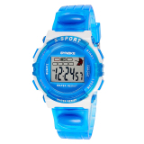 Boy S Digital Electronic Watches Multifunction Watch Kid Child G*Rl Waterproof Blue On Line