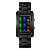 Sale Brand Luxury Watches Led Display Quality Alloy Band Digital Waterproof Wristwatches 1103 Intl
