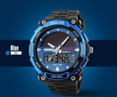 Sale Brand Watch 1049 Solar Power Led Digital Outdoor Sports Diving 50M Waterproof Relogio Masculino Man Military Watch Intl Bounabay Original