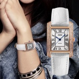 New Brand Watch Fashion Retro Women S Watches Leather Strap Ladies Quartz Casual Waterproof Wristwatches 1281 Intl