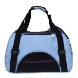Buy Breathable Dog Carring Bags Pet Carrier Bags Travel Bag Blue Intl Online