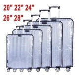 Sale Bsi 30 Inch Pvc Thick Transparent Waterproof Luggage Protective Covertrolley Suitcase Travel Dust Cover Accessories Supplies Products Intl China