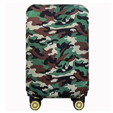 Bsi Elastic 28 Inch Luggage Cover Suitcase Cover Protector(Cover Onlynot Luggage)Green Intl Free Shipping