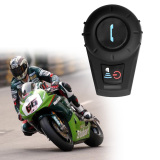 Review 500M Bluetooth Intercom For Motorcycle Helmet Headset Interphone Eu Plug Black On China