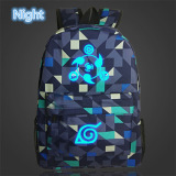 2017 Naruto Backpack Japan Anime Printing Sch**l Bag For Teenagers Cartoon Travel Rucksack Nylon Casual Luminous Mochila Galaxia Naruto 09 In Stock