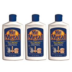 Bundle 3 X Formula 1 07284 Mr Metal Liquid Cleaning Liquid 240 Ml Price Comparison