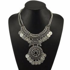 Buy womens necklace pendants online lazada buyincoins fashion women bohemian vintage collar ethnic tassel coin bib statement necklace aloadofball Images