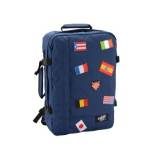 Sale Cabinzero Classic 44L Limited Edition Flags Backpack Navy On Singapore
