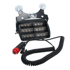 Car 18 Led Warning Light Emergency Lamp Amber For Truck Suv Export Promo Code