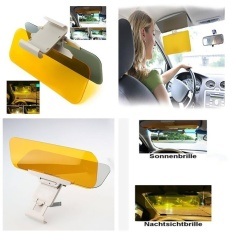 Buy Car Auto Anti Glare Dazzling Goggle Day Night Vision Mirrorshield Sun Visor Intl