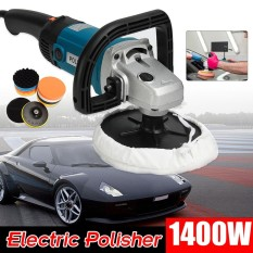 Car Body Sander Electric Car Polisher Buffer Machine 180mm Polishing Sanding Kit - Intl By Freebang.