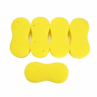 Car Care Bike Van Wash Pads No Scratches soft Sponge Cleaning Polishing Waxing