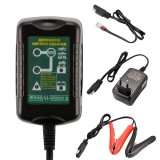 Buy Car Motorcycle 12V 6V Smart Automatic Battery Charger Tender Maintainer Intl Xcsource