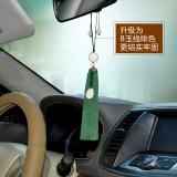 Cheap Car Natural White Jade Bodhi Car Pendant Lotus Root Tassel Handmade Braided Rope Jewelry Car Ornaments Online
