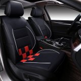 Who Sells The Cheapest Car Seat Covers Pu Leather Front And Rear Full Set All Seasons Fit Most Car Truck Suv Or Van Black And Red Size M Intl Online