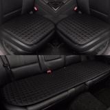 Review Car Seat Cushion Front And Rear Row Non Slip Fabric No Installation Interior Accessories Black Intl On China