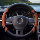 Who Sells Car Steering Wheel Covers Diameter 14 Inch Pu Leather For Summer Yellow S Intl