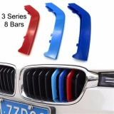 Review Car Styling 3Pcs Set Front Grille Cover Decoration Trim Strips For Bmw 3 Series 8 Bars 2013 2016 Intl Oem On China