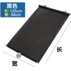 Price Comparisons For Car Sun Shade Visor Board Sun Insulation Curtain Suction Cupautomatic Retractable Front Windshield Glass Cover Insulation Cover Intl