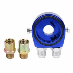 Compare Car Universal Oil Filter Sandwich Adapter For Cooler Plate Kit An10 Aluminum Intl Prices