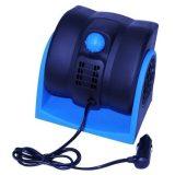 Car Vehicle Truck Cooling Air Fan 12V Adjustable Silent Cooler Speed New Blue For Sale