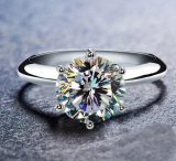 Sale Carat 925 Sterling Silver Women S Diamond Ring China