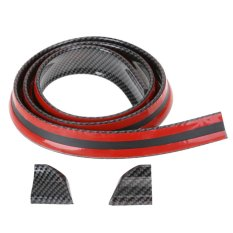 Cheapest Carbon Fiber Rubber Car Rear Spoiler 40Mmx1 5M Exterior Rear Spoiler Kit Intl