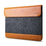 Cartinoe 13 13 3 Inch Laptop Bag Wool Felt Pu Leather Laptop Case Computer Sleeve Bag Notebook Bag For Macbook Air 13 Pro 13 3 Retina 13 3 Cover Intl Discount Code