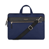 Low Price Cartinoe London Series Smooth Zipper Sleeve Luxury Hareware Nylon Portable Laptop Bags For Macbook Air 13 Inch Blue
